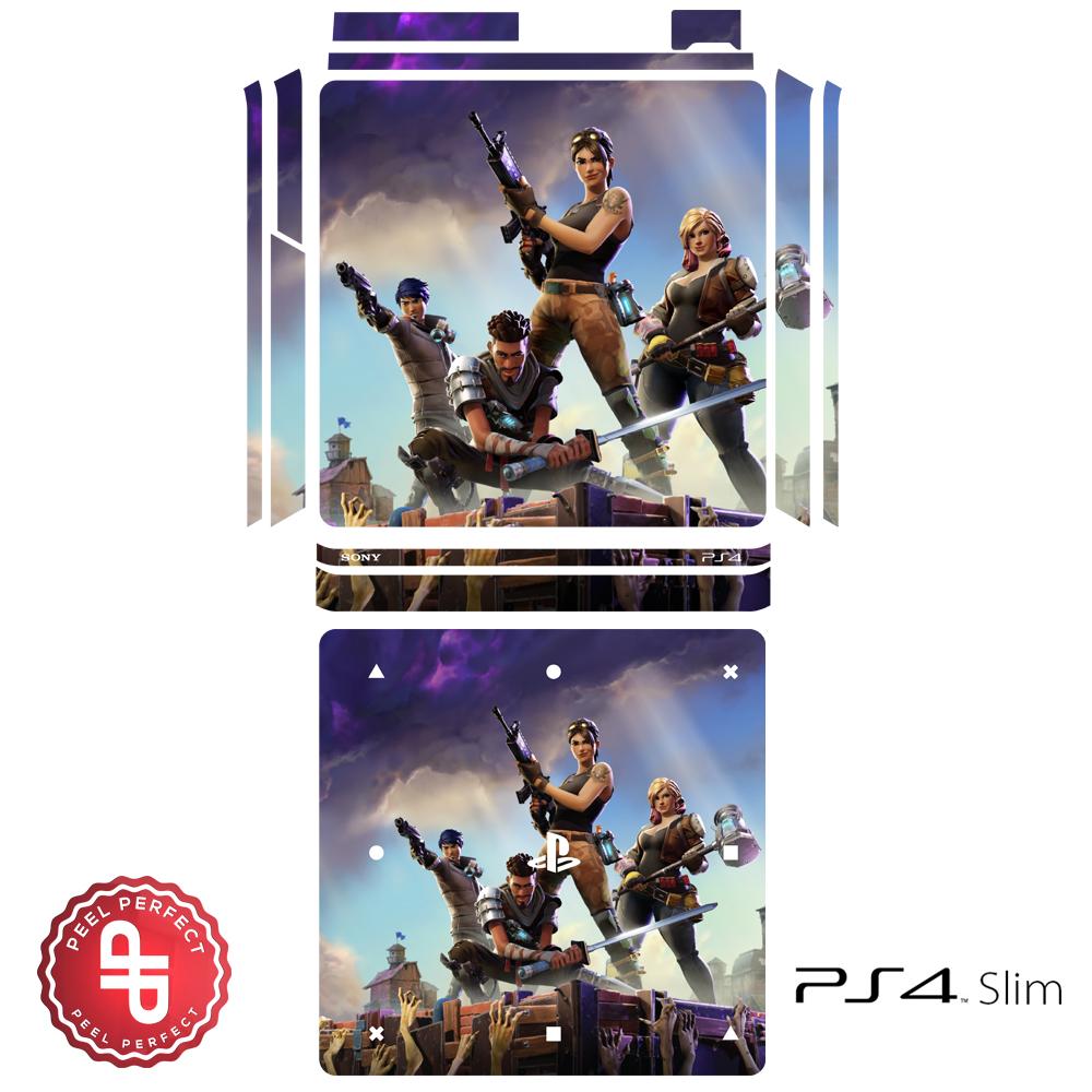Fortnite Ps4 Slim Skin Playstation 4 Slim Console Skin